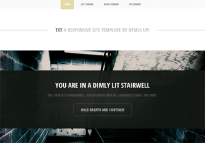template responsive